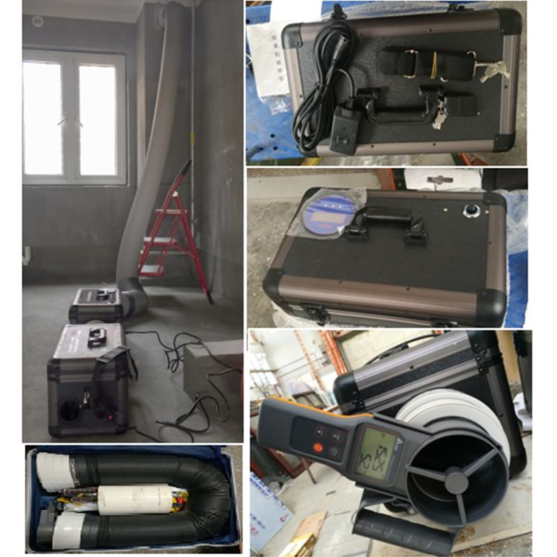 住宅排气道气密性能现场检测装置